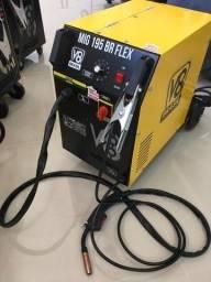 Título do anúncio: máquina de solda mig 195 BR Flex - ja com tocha