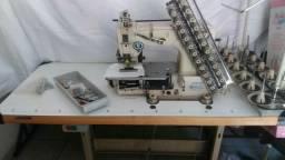 Máquina industrial 12 agulhas
