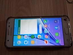 Samsung J5 prime 32 gb tela trincada mas funcionando perfeitamente