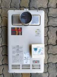 Aquecedor/Boiler a gás Rinnai Digital 30L