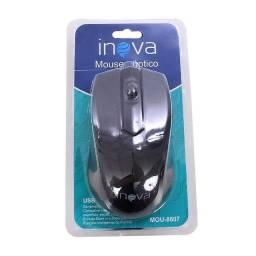 Mouse Óptico Inova Design Moderno 800dpi 100mAh