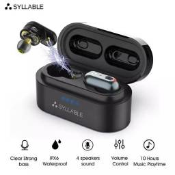 Fone Bluetooth Alta Qualidade Syllable S101 Lacrado