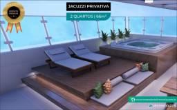 Título do anúncio: Cobertura com Jacuzzi Privativa na Praia do Cupe com 2 Quartos | a 70m do mar