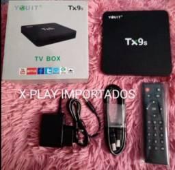 Título do anúncio: TV box r$299