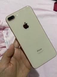 Iphone 8 plus 64 gigas rosê<br><br>