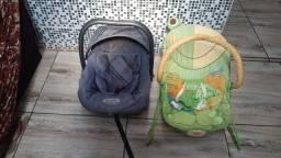 Vendo bebê conforto e cadeirinha