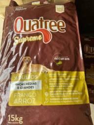 Ração Super Premium Quatree Supreme 15kg - Adulto e Filhote