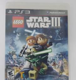 Lego Star Wars III The Clone wars PS3 Mídia Física