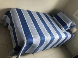 Cama com colchão 32 cm altura