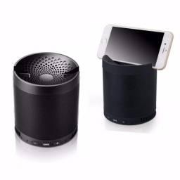 Caixa de som Q3 com suporte para o celular