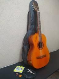 Violão Di Giorgio Classic Guitar Belson N°36 Ano 1991 Acústico e Elétrico.