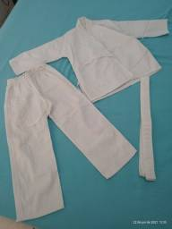 Kimono Branco Desapega