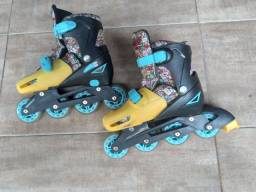 Roller patins hora da aventura