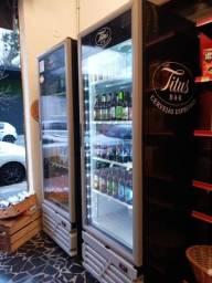 Título do anúncio: Cervejeira Expositora Imbera - Porta de Vidro e Luz de Led
