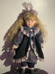 Boneca Porcelana 46 cm