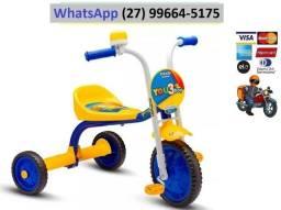 Triciclo Bicicleta Infantil Motoca Top Boy Jr Pro Tork Ultra