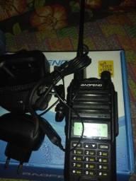 Rádio Ht boafang uv9r plus triband novo