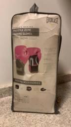 Luvas de boxe rosa feminino Everlast