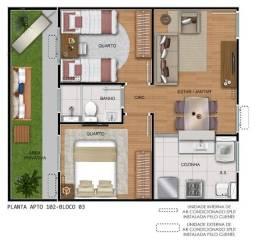 Título do anúncio: Apartamento com área privativa (quintal/garden)