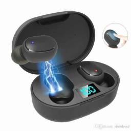 Fone de ouvido digital true esporte bluetooth 5.0 E6s Tws