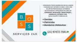 Absos serviços  24 horas