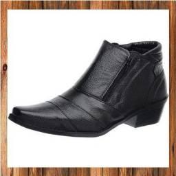 Botas de couro legítimo