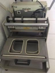 Prensa térmica para alimentos SelaTerm Mogck + 3 moldes para prensa.