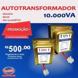 Transformador Bivolt 10.000va - Entrega Gratis