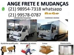 Transporte mudanças  rio de janeiro rj todo brasil excelente custo