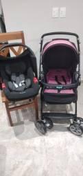 FAÇO ENTREGA carrinho de bebê e bebê conforto
