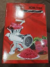 Máquina de moer carne manual