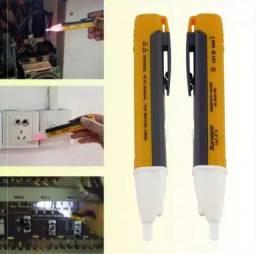 Caneta de Teste de Energia Fio Tensão Tomada Eletricista Doméstico Predial