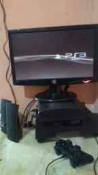 Playstation 3 com 30 Jogos