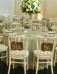 Título do anúncio: Cadeira Dior Branca com assento VENDO LOTE