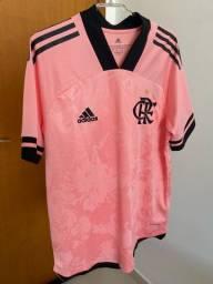 Camisa Flamengo Outubro Rosa M