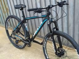Vendo bike Absolute prime nova com relação 2x9 absolute prime freio hidráulico.