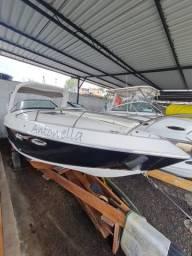Título do anúncio: Lancha Barco Cabinada 27 pés Super Nova 30h de uso Volvo Penta 270hp