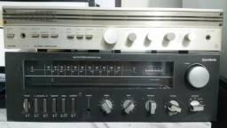 Receiver, Amplificador e Caixas