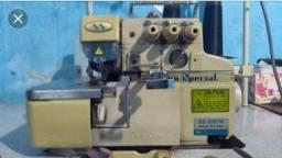 Máquina de costura industrial overloque ss-8803w