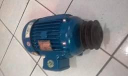 Motor Elétrico Trifásico Voges 4cv 1730rpm usado