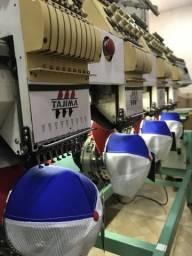 Maquina de bordado TAJIMA 4 cabeças