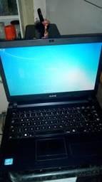 Notebook ultra thin cce i3 3 geração 6gb hd 500
