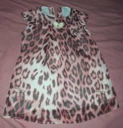 Desapego vestido infantil(veste 6 a 9 meses