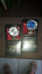 2 relógio Invicta na caixa r$ 130 cada um