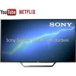 """Smart TV Led 40"""" Sony KDL-40W655D Full HD com Conversor Digital 2 HDMI 2 USB Wi-Fi Foto Sh"""