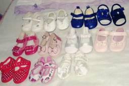 Lote sapatinhos menina