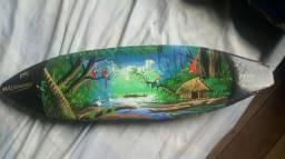 Canoa porto maldonado.peru.pintura
