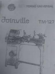 Manual De Operação E Manutenção Do Torno Joinville Tm-127