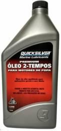Óleo litro 2 tempos tcw3 Quicksilver para motor de popa