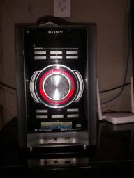 Micro System Sony Genezi Em modo PROTECT Aceito Cartão